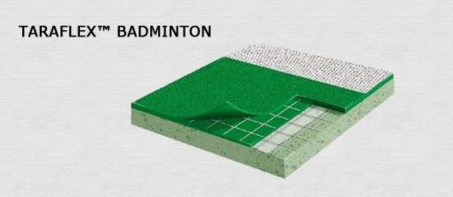 Спортивный линолеум taraflex tx badminton