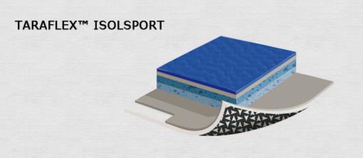 taraflex tx isolsport Спортивный линолеум